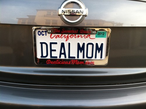 Deal Mom License Plate