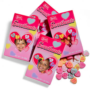 Sweethearts Candy Box Frame
