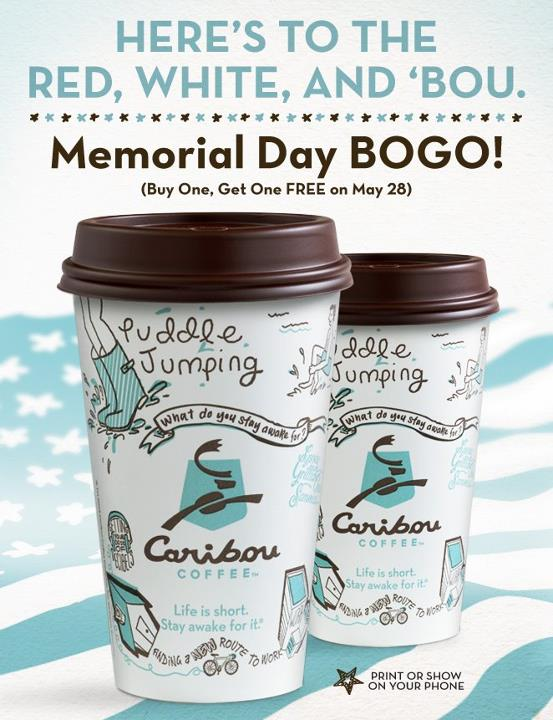 Caribou Coffee Deals Coupons