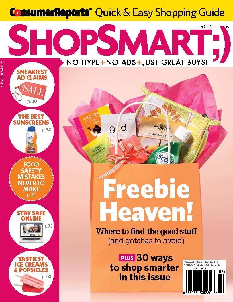 ShopSmart July Cover