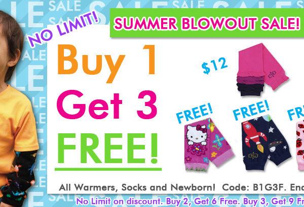 BabyLegs: Buy 1 Get 3 Free
