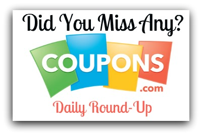 coupon round up Coupons You May Have Missed%catagory