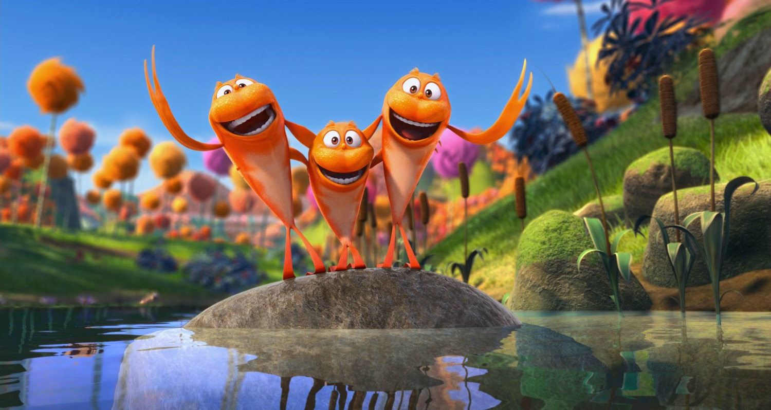 The Lorax Is Out Now On Bluray Dvd Plus 3 Mail In Rebate