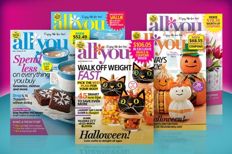 2 Years of All You Magazine for $22: Less for New Members!