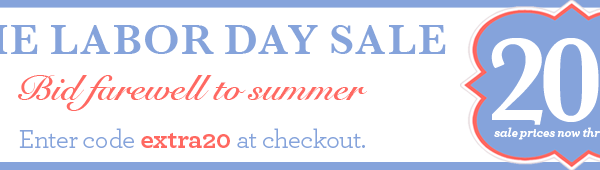 Layla Grayce Extra 20% off Sale Items Until 9/3 or 15% off Until 9/31