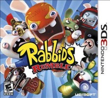Gift Idea: Rabbids Rumble for DS #RabbidsR