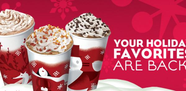 BOGO Starbucks Holiday Drink 11/12-15