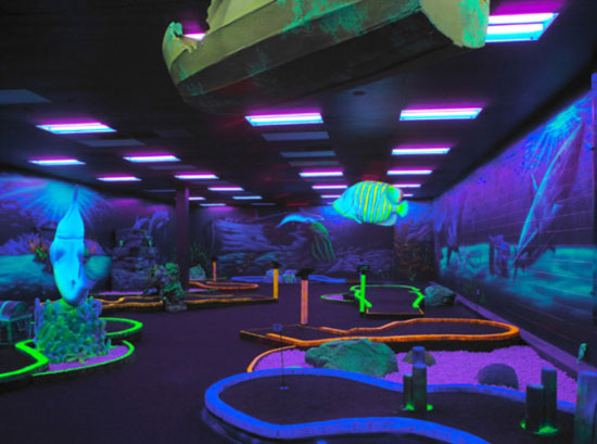 How to organize a fun night out on a budget deal for Indoor golf design