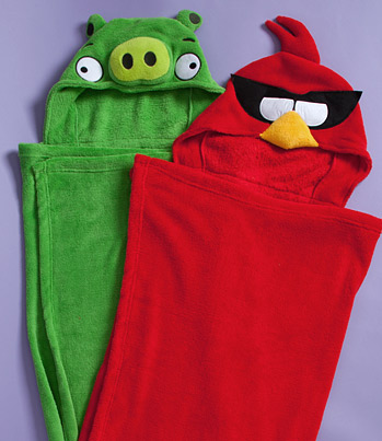 Angry Bird Hooded Towels $8.99