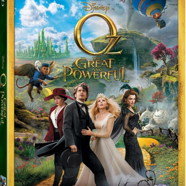 OZ THE GREAT AND POWERFUL:  Blu-Ray Combo Pack Out Today!