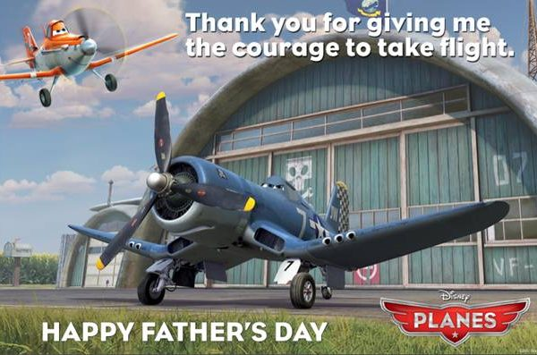 Fathers Day E-Card & Activities from Disney's Planes
