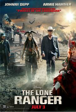 The Lone Ranger Rides into Theaters July 3rd