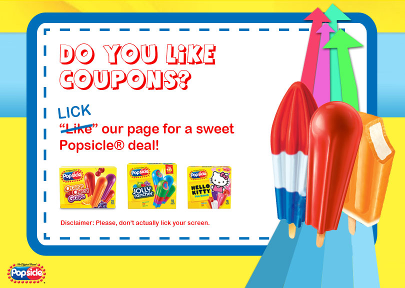 popsicle coupon