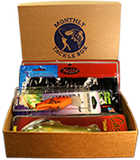 Monthly tackle box subscription box first box for Fishing box subscription