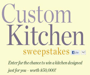 Enter To Win A 50 000 Kitchen Makeover Deal Icious Mom