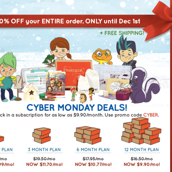 Peekapak 40% Off Subscriptions