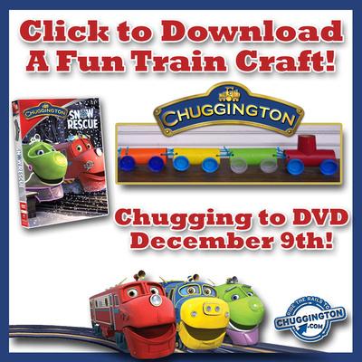 Chuggington Train Craft