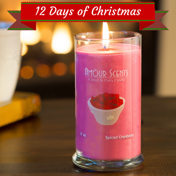 Amour Scents 12 Days of Christmas Giveaway – $300 Gift Certificate OR a Year of Candles!