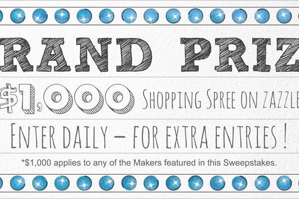 Zazzle Giveaway – $1000 Grand Prize