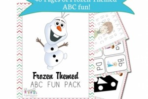 Free Frozen Printable Activity Book