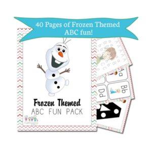 Free Frozen Printable Activity Book
