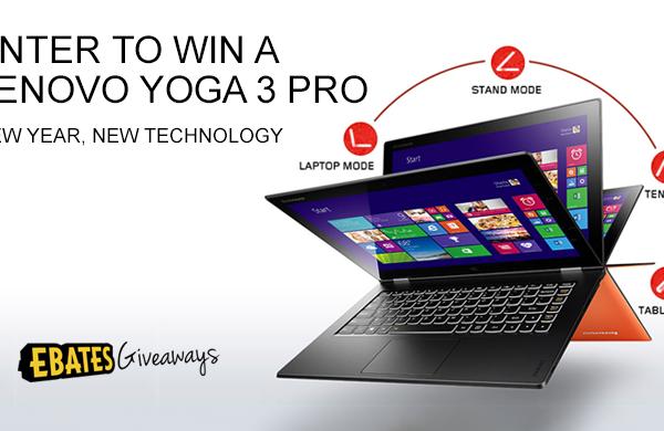 Enter to Win a Lenovo Yoga Pro