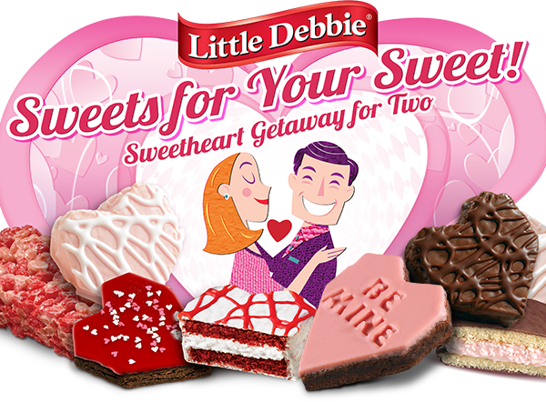 Little Debbie Valentine's Prize Pack Giveaway – Win a Getaway for Two