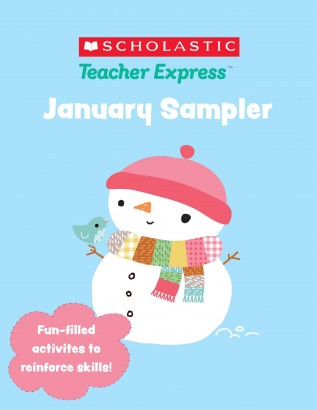Scholastic January Sampler – Ebook Full of January Lessons & Activities