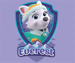 Paw Patrol Everest Birthday Cake Coloring Page