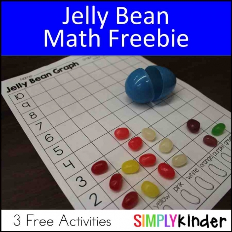 Jelly Bean Math Printable