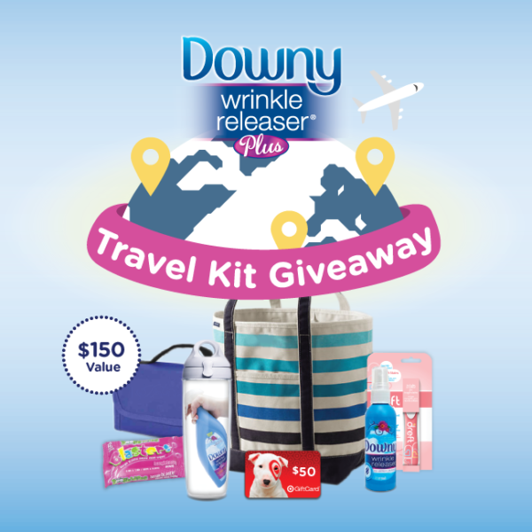Travel Pack Twitter Giveaway with Downy Wrinkle Releaser Plus