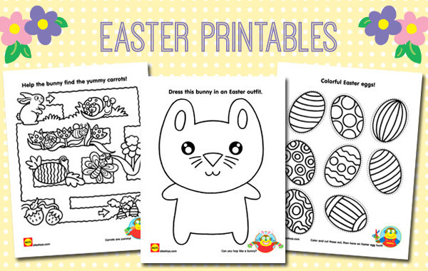 Easter Coloring Printables