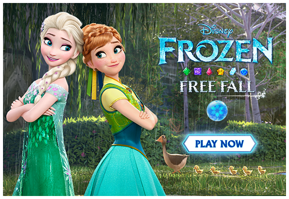how to play frozen free fall