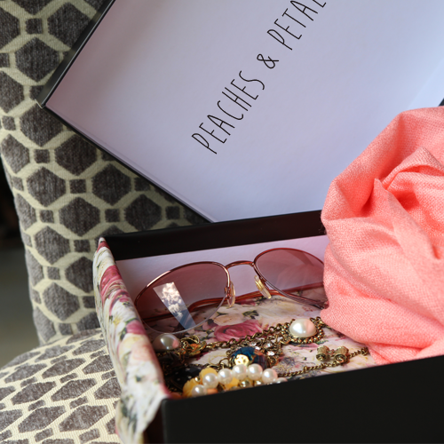Peaches & Petals 50% of First Subscription Box