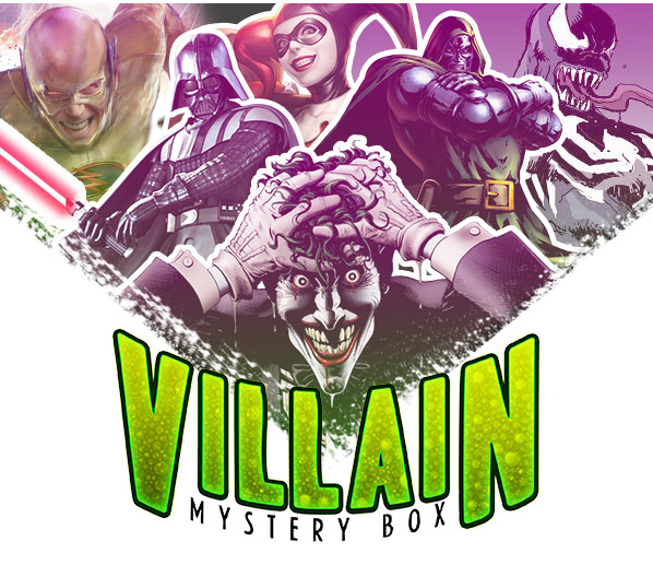 Villians Mystery Box $49 – Only 200 Up for Grabs