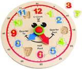 Hape – Happy Hour Clock – Time Learning Puzzle 50% Off – $7.50