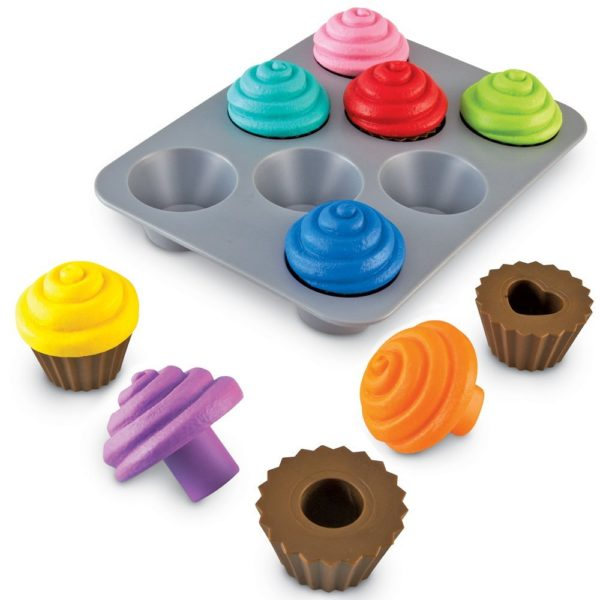 Learning Resources Smart Snacks Shape Sorting Cupcakes 50% Off Today Only!