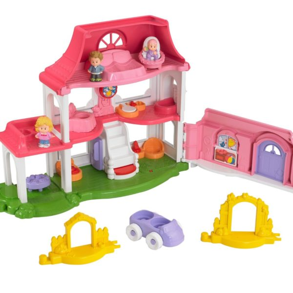 50% Off Fisher-Price Little People Happy Sounds Home $19.95