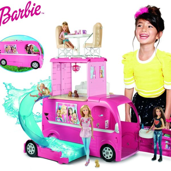 Barbie Pop-Up Camper $65 at Amazon and in stock!