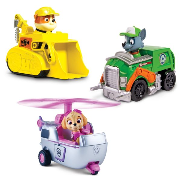 Paw Patrol Racers 3-Pack Vehicle Set $8.99 – 40% Off