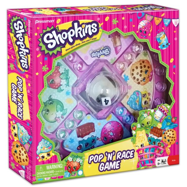 Shopkins Pop 'N' Race Game — $5