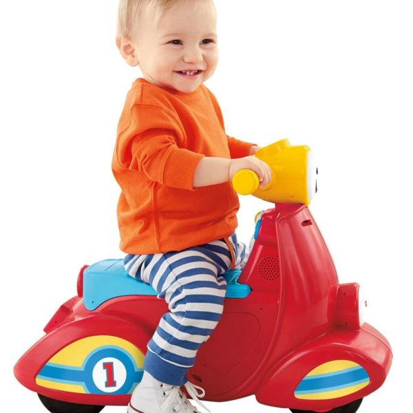 Fisher-Price Laugh & Learn Smart Stages Scooter $15