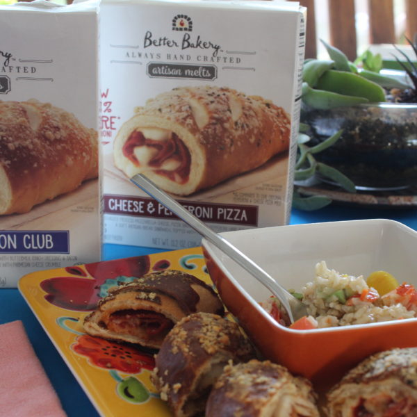 Quick Brunch w/ Better Bakery & a Side Salad Recipe for your Next Play Date