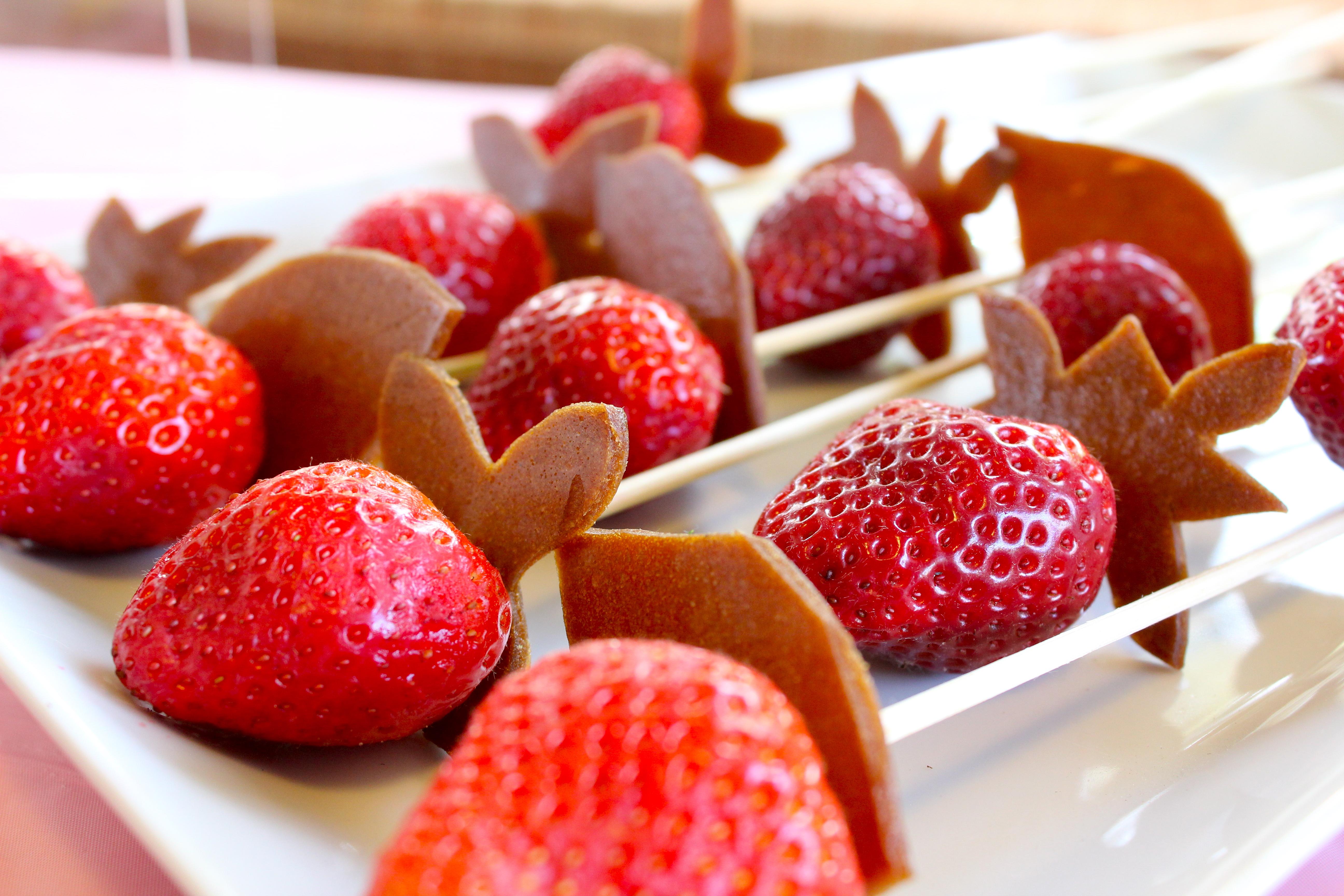 Strawberry Recipes: Fairy Wand