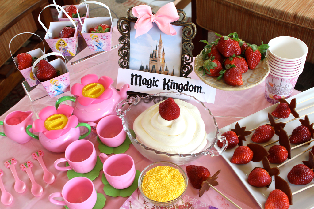 magic kindgom princess tea