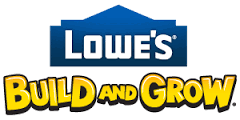 Lowes Build and Grow logo