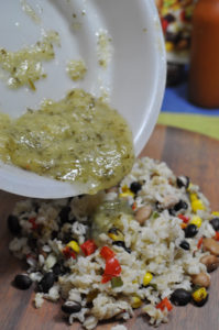 Healthy Choice-Cafe-Steamers-Beans-Rice-Step3