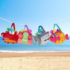 Bag and Toy Set for Beach Loving Kids