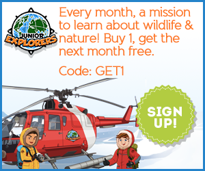 Discount code for Junior Explorers
