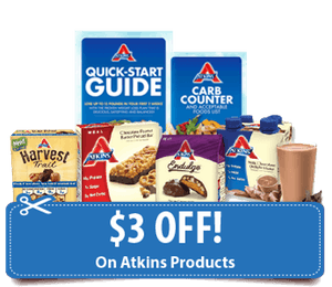 Atkins free kit and coupon